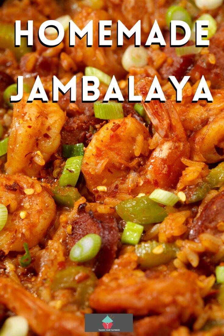 Homemade JambalayaP1 scaled