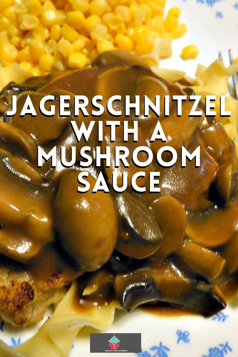 Jagerschnitzel! This is a lovely easy recipe for Pork pan fried in butter then topped with a delicious mushroom sauce. Very popular In parts of Germany and often served with Spaetzle or pasta