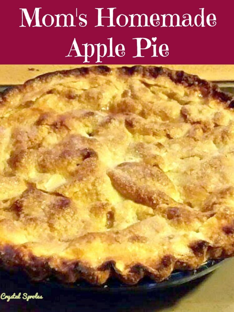 Mom's Homemade Apple Pie | Lovefoodies