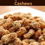 Sesame Sugar Coated Cashews