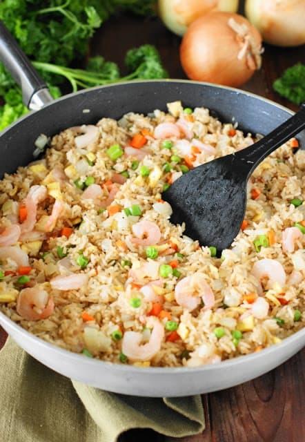 Skillet Shrimp fried Rice