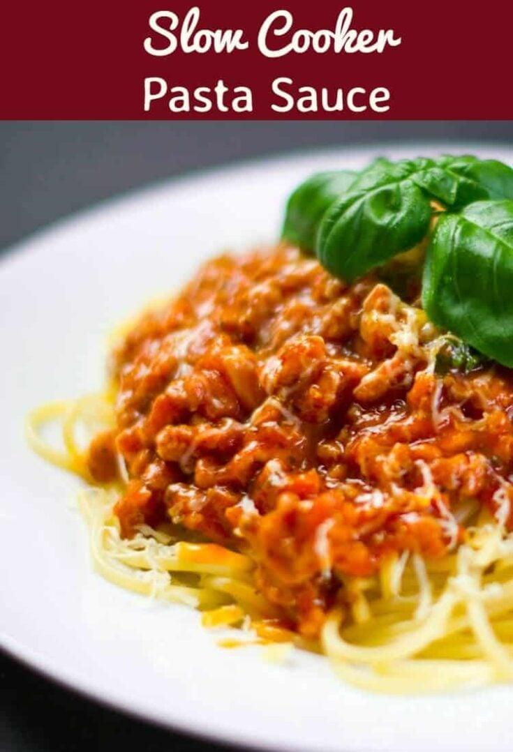 Slow Cooker Pasta Sauce3