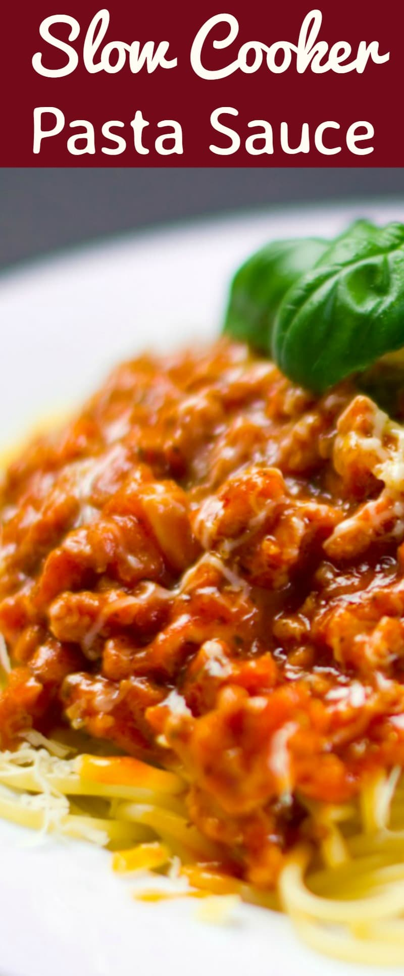 Slow Cooker Pasta Sauce with great ingredients. Delicious homemade goodness and freezer friendly too! | Lovefoodies.com