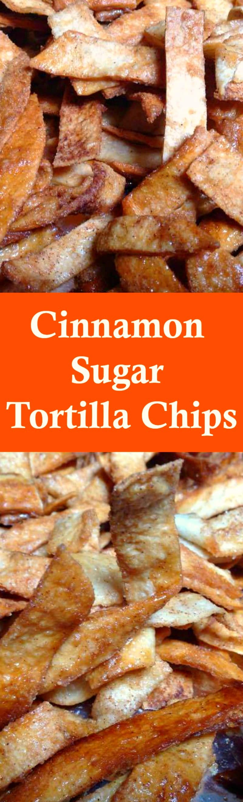 Cinnamon Sugar Tortilla Chips! These are a lovely sweet snack using very simple ingredients and incredibly easy to make. Perfect for parties and holidays. | Lovefoodies.com