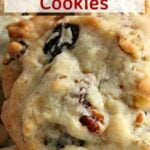 Pecan Raisin Cookies