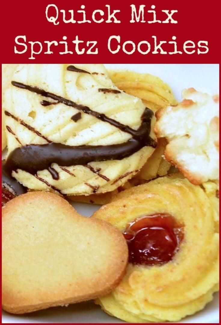 Quick Mix Spritz Cookies6