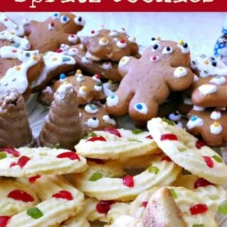 Quick Mix Spritz Cookies