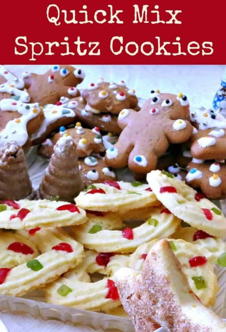 Quick Mix Spritz Cookies7