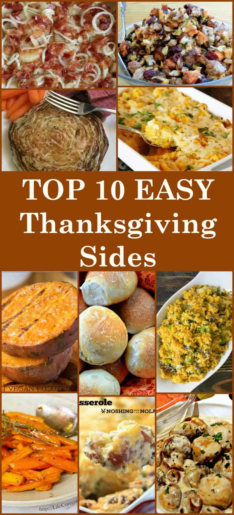 The best top 10 thanksgiving sides lovefoodies heres a selection of the best top 10 side dishes from talented bloggers all tried forumfinder Images