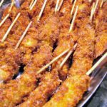 Breaded Chicken Skewers