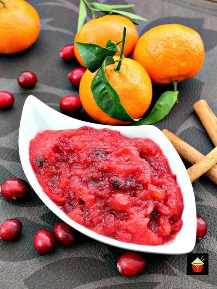 Simple Cranberry and Apple Sauce14