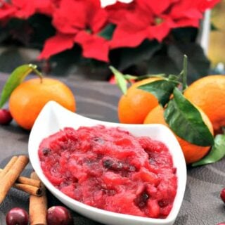 Simple Cranberry and Apple Sauce