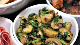 Champinones Al Ajillo, Spanish Garlic Mushrooms