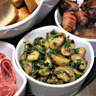 Champinones Al Ajillo, Spanish Garlic Mushrooms