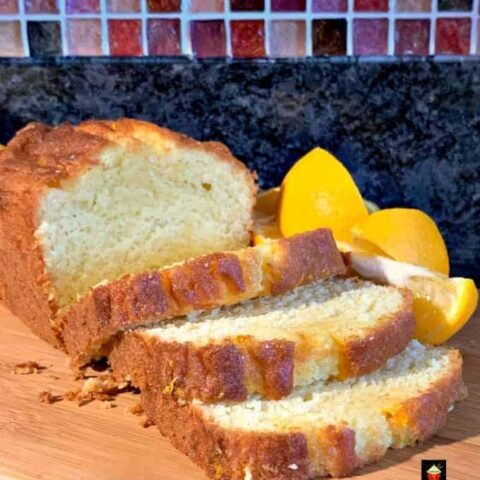Moist Lemon or Orange Pound, Loaf Cake is such a wonderful tasting cake, soft, and delicious!