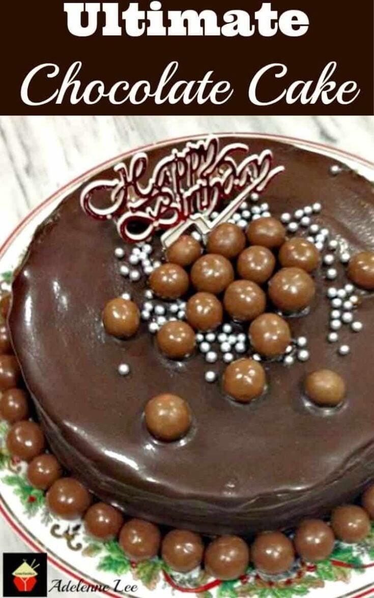 Ultimate Chocolate Cake 2