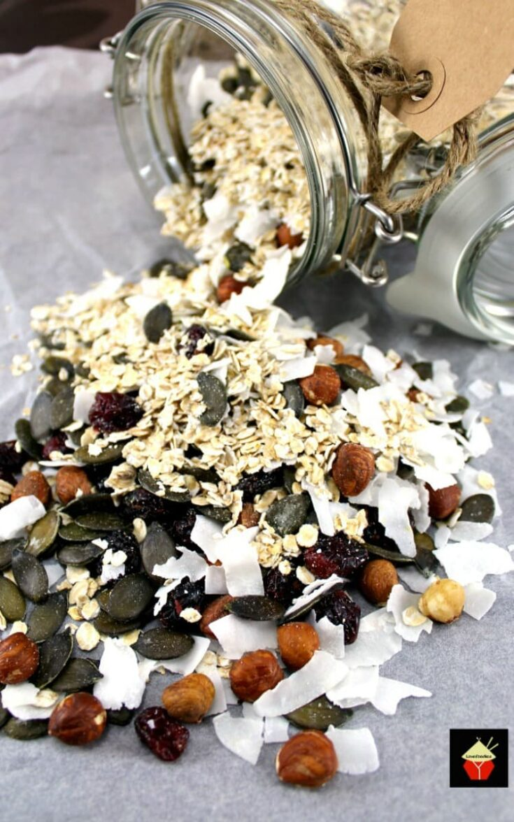 Coconut and Cranberry Granola2