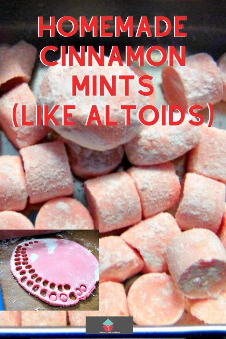 Homemade Cinnamon MintsP1