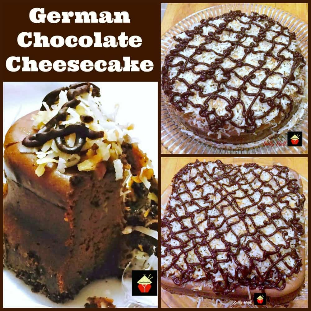 German Chocolate Cheesecake. Oh boy! This is a wonderful recipe with a rich chocolate flavor. Every chocolate lover's dream! | Lovefoodies.com