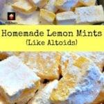 Homemade Lemon Mints – Like Altoids