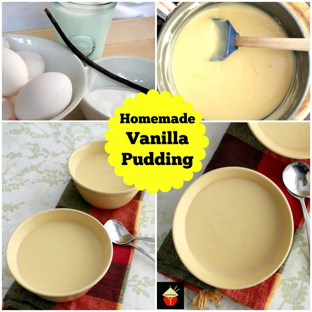 Homemade Vanilla Pudding is a wonderful recipe using fresh ingredients. You can't beat homemade! | Lovefoodies.com
