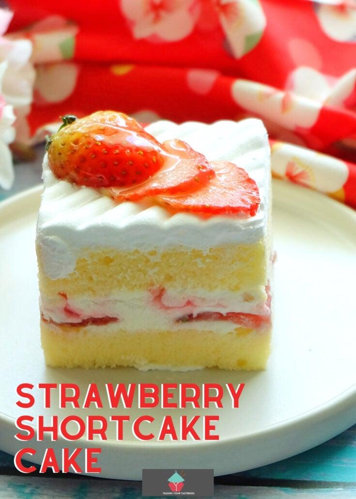 Strawberry Shortcake CakeH