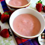 Homemade Strawberry Pudding