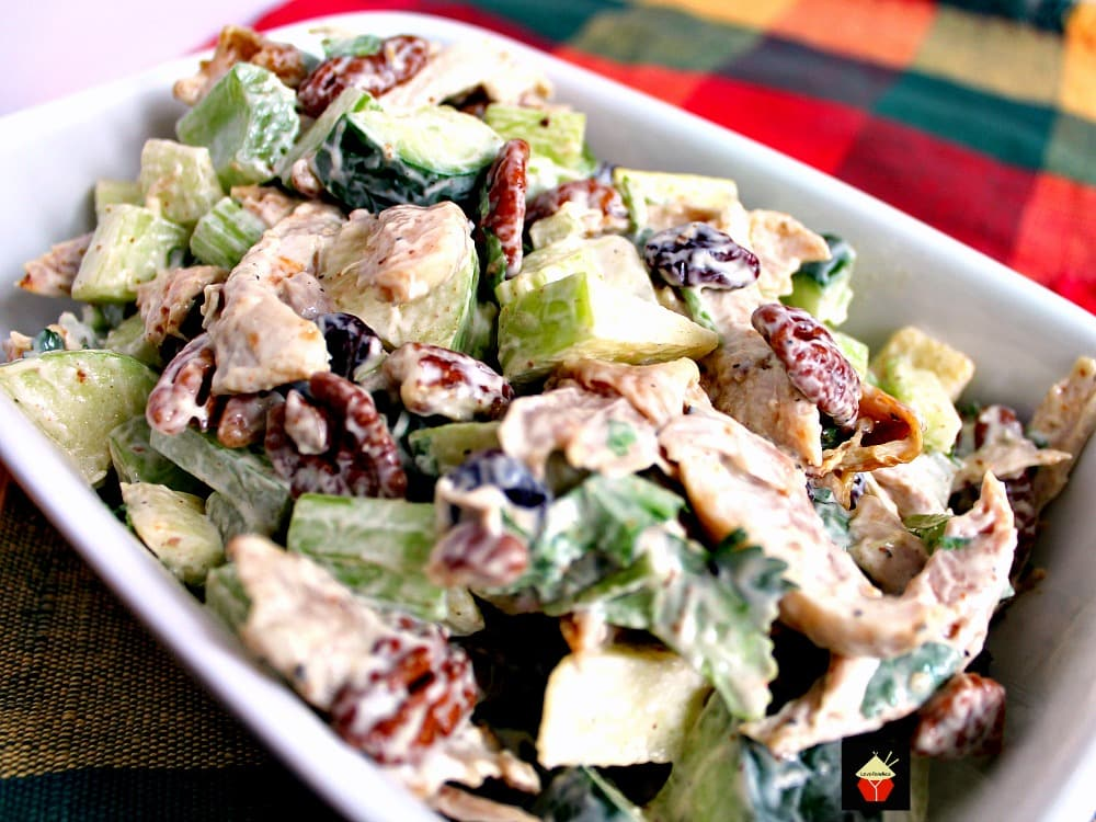Chicken Party Salad Is A Great Family Recipe Very Quick And Easy To Make And