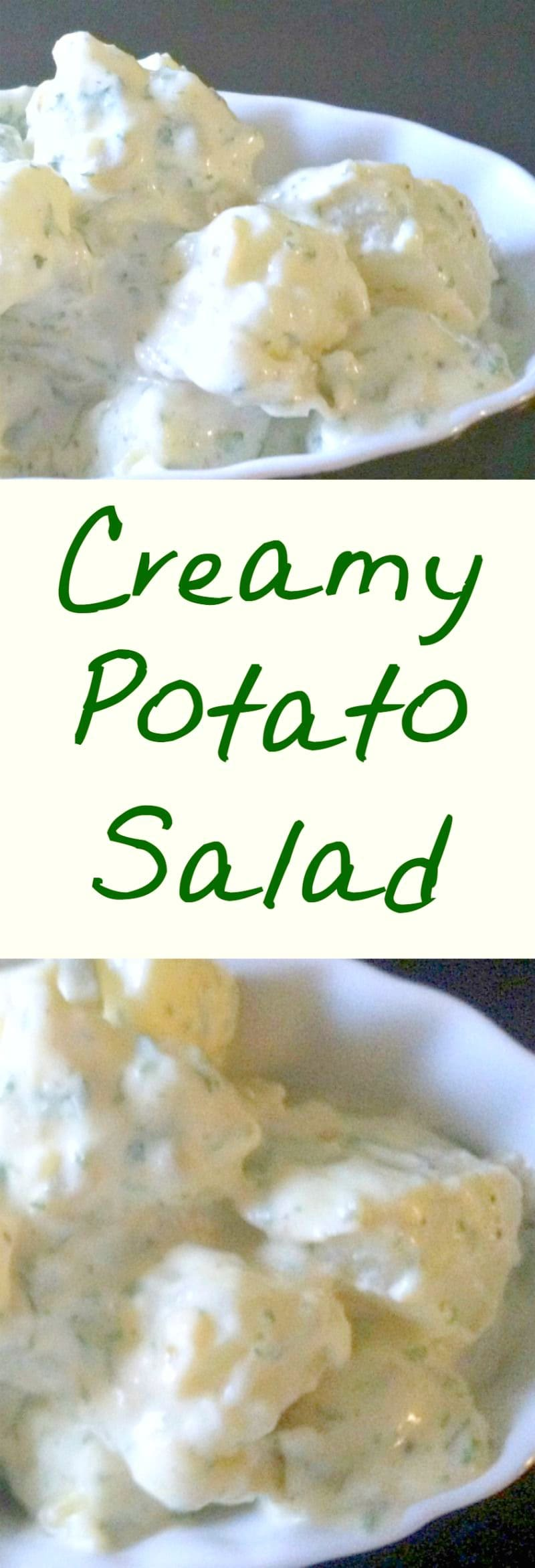 Creamy Egg and Potato Salad is always so popular. Sweet and tangy, it makes for a perfect pairing with your meals or party food! | Lovefoodies.com