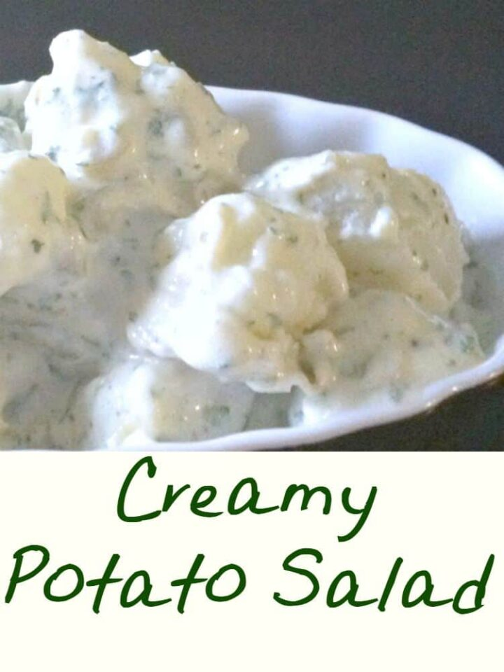 Creamy Egg and Potato Salad is always so popular. Sweet and tangy, it makes for a perfect pairing with your meals or party food!