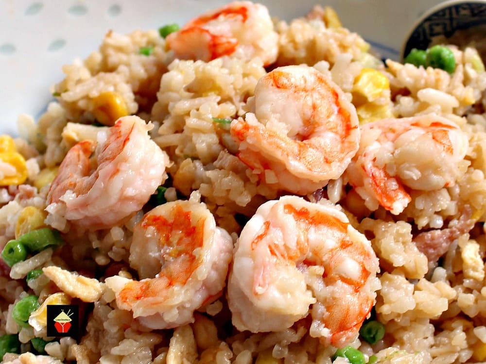 Garlic Shrimp Fried Rice – Lovefoodies