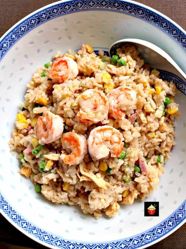 Garlic Shrimp Fried Rice It S Quick Easy And Of Course