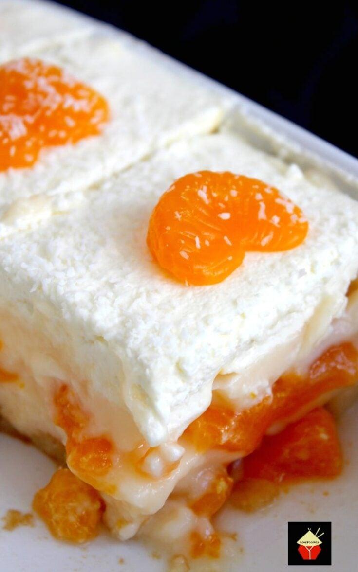 Easy Mandarin Dessert10