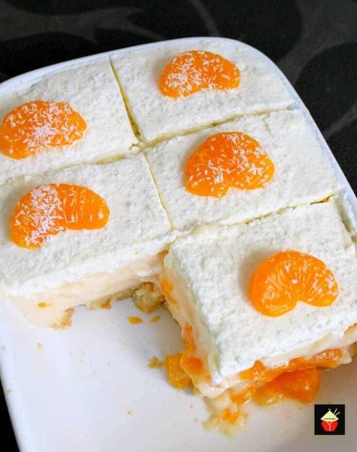 Easy Mandarin Dessert5