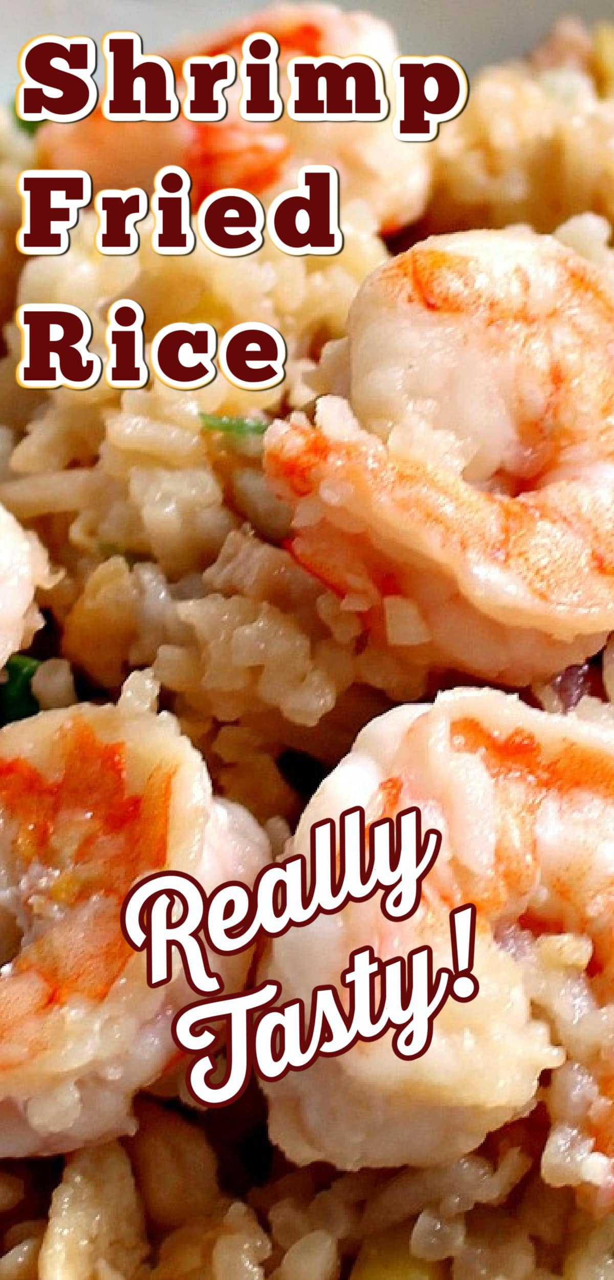 Garlic Shrimp Fried Rice! It's quick, easy and of course super tasty Asian starter or main dish!