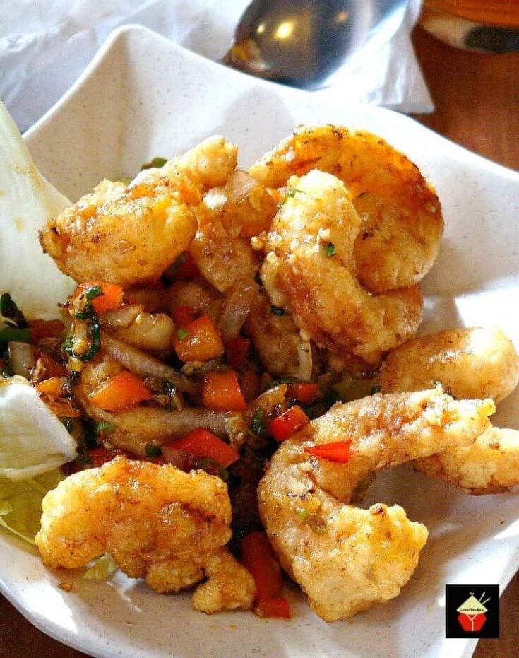 Chinese Garlic Shrimp1
