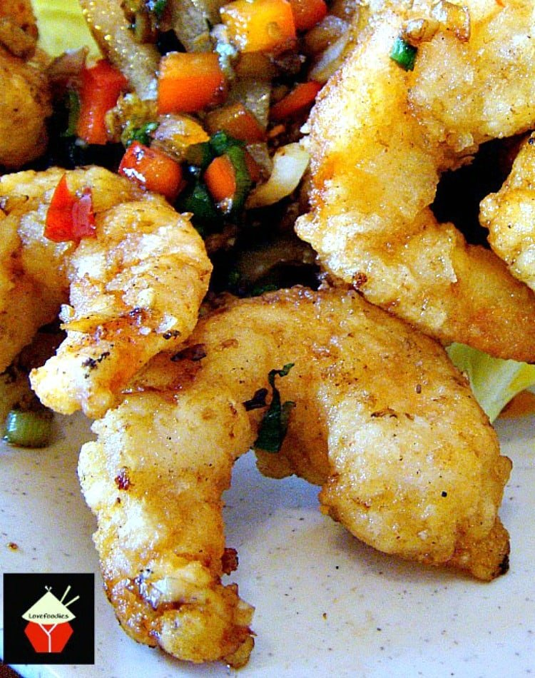 Chinese Garlic Shrimp is a wonderful quick and easy recipe with terrific flavors! Serve as an appetizer, main dish with Jasmine rice or add to a stir fry.   Lovefoodies.com