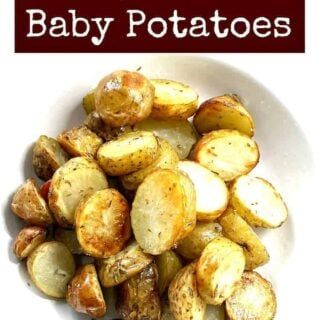 Easy Baked Baby Potatoes