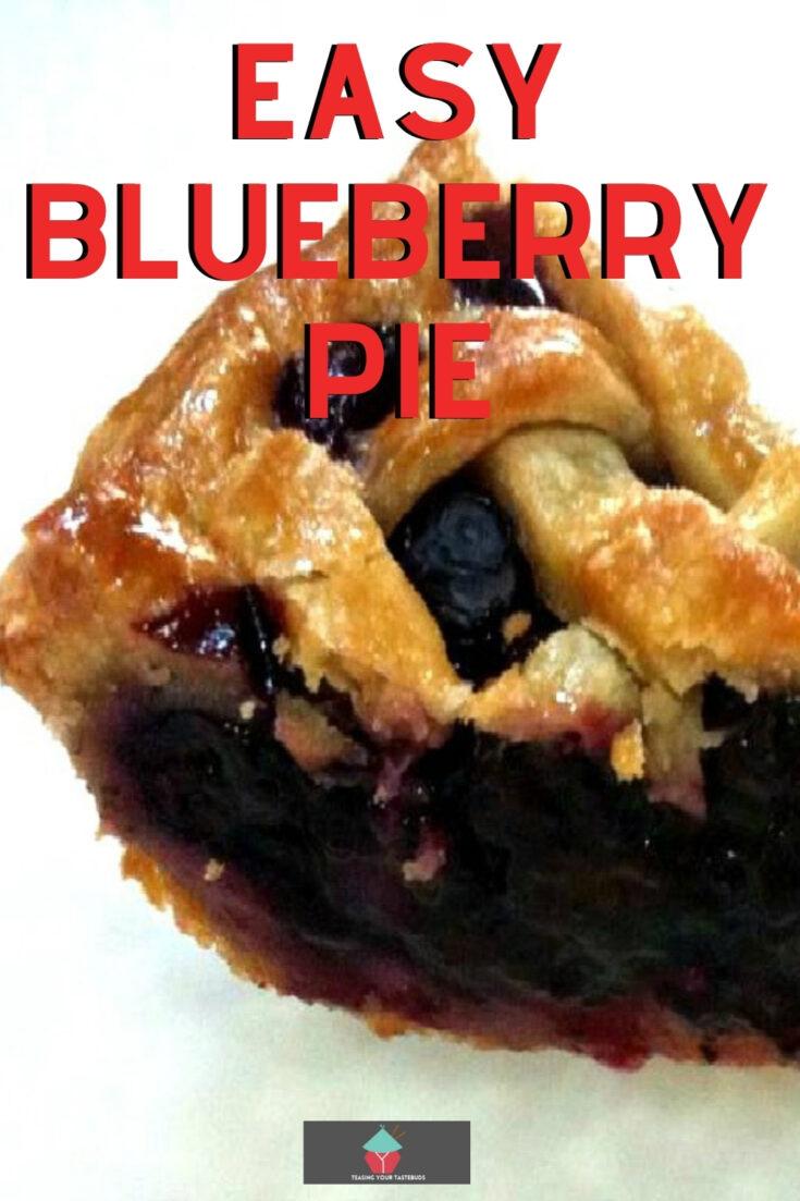 Easy Blueberry PieP1