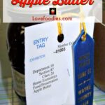 Prize Winning Apple Butter -Easy Slow Cooker Recipe. Goes great with sweet or savory dishes. You choose! Nice for gifts too!