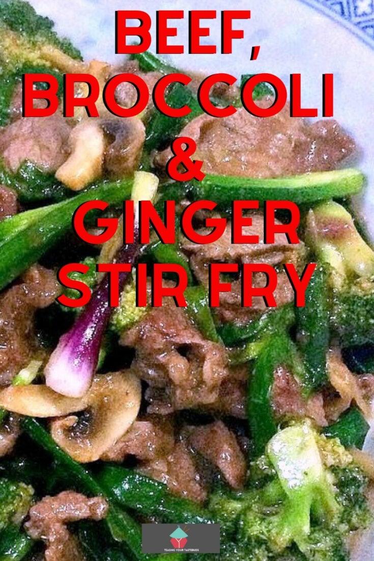 Beef Broccoli and Ginger Stir FryP1