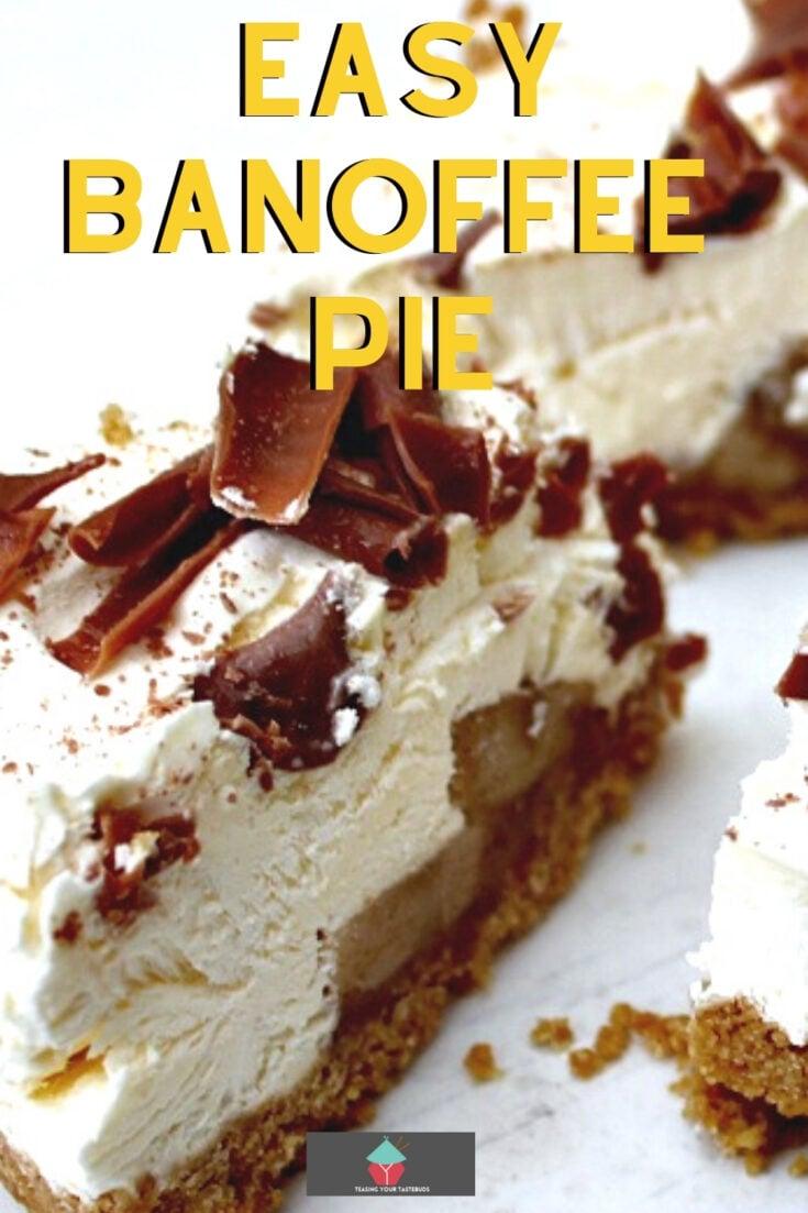 Easy Banoffee PieP1