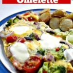 Easy Pizza Omelette