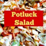Easy Potluck Pasta Salad