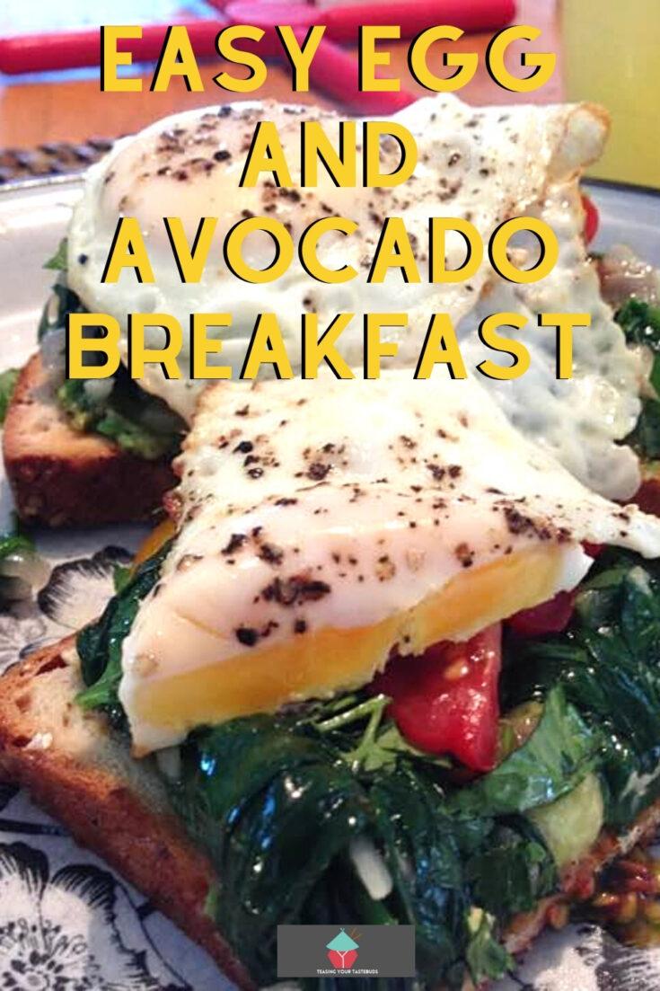 Easy Egg and Avocado BreakfastP1