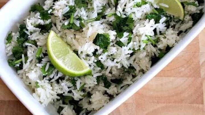 Garlic and Lime Cilantro Rice