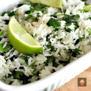 Garlic and Lime Cilantro Rice