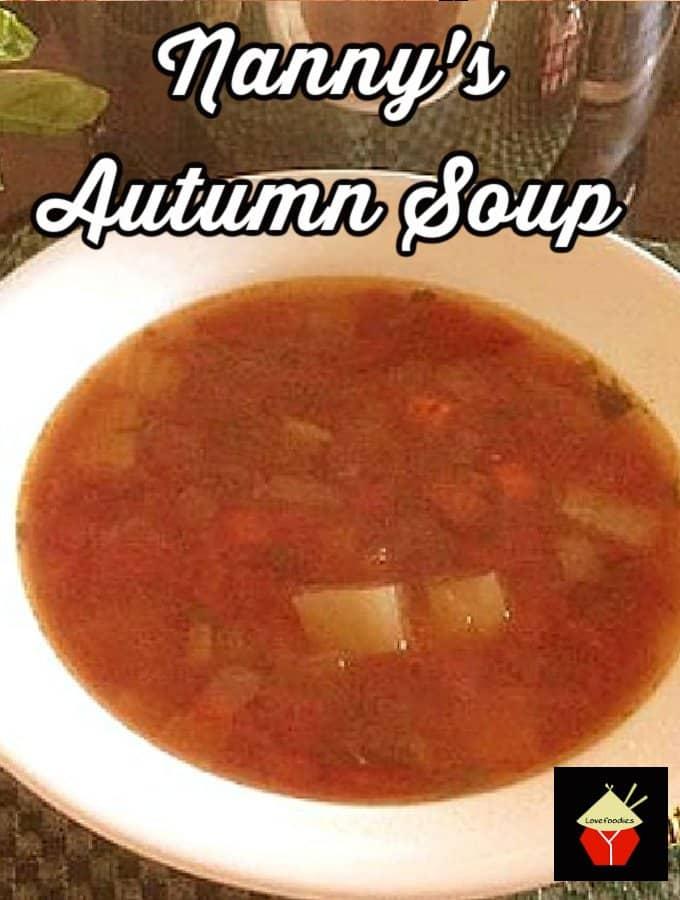 Nannys Autumn Soup H