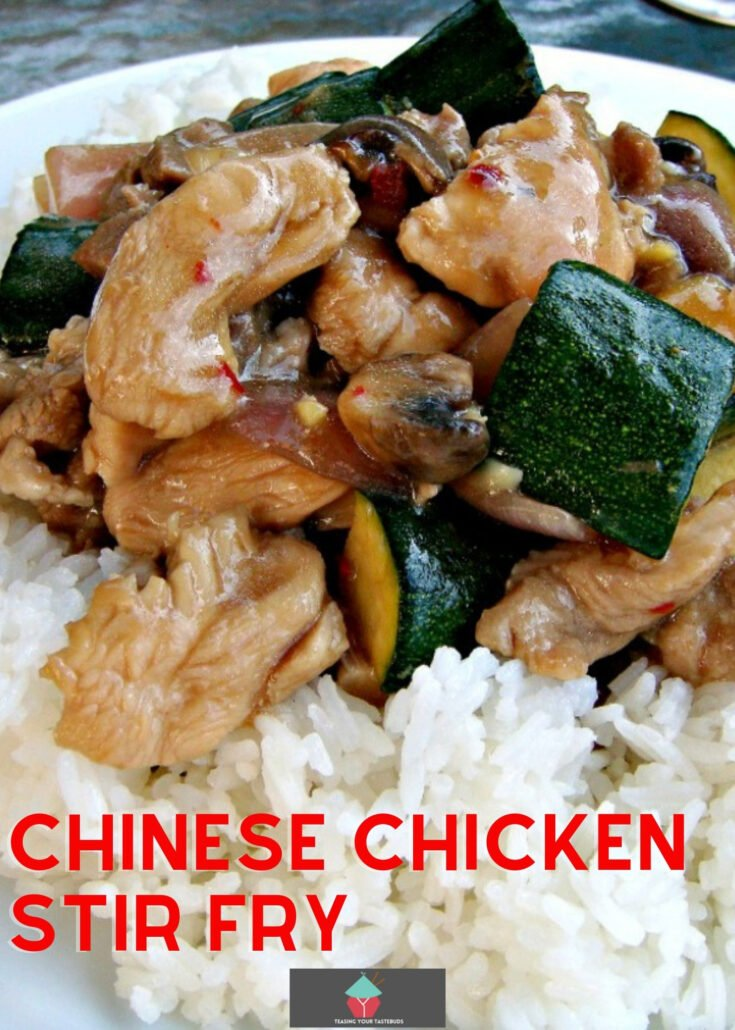 Chinese Chicken Stir FryH