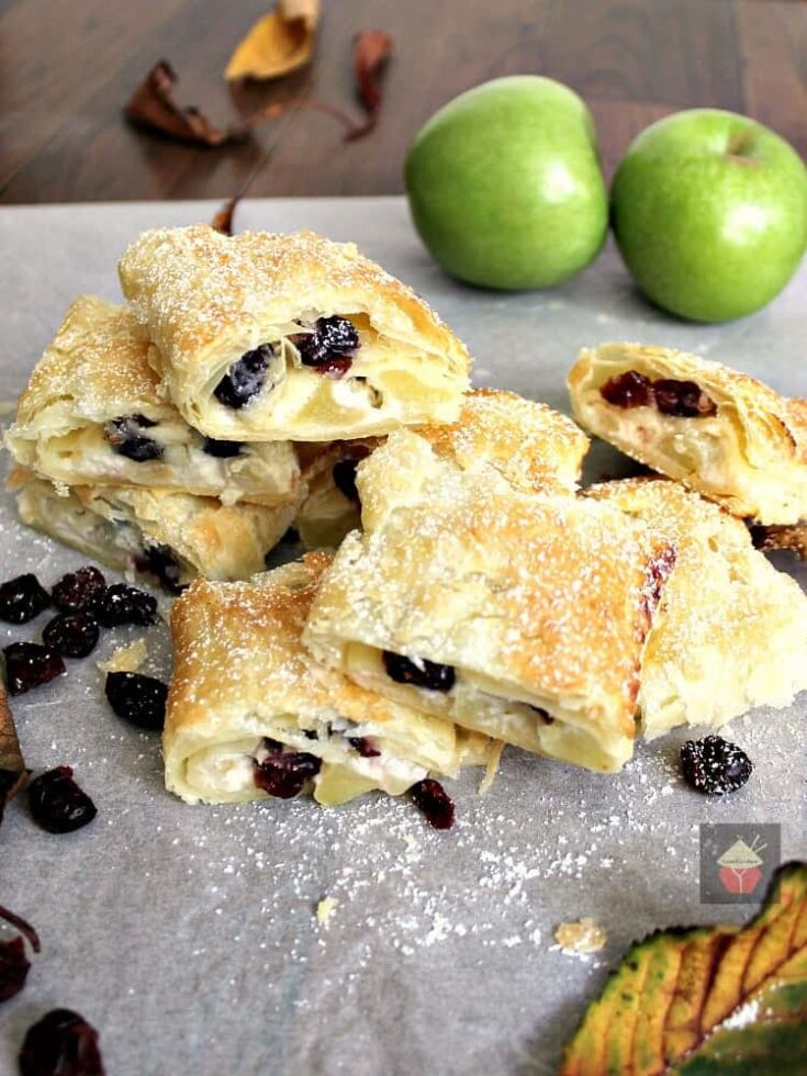 Easy Apple and Cranberry Roll Ups8
